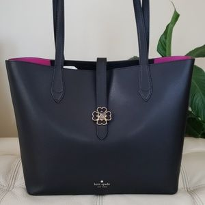 Kate Spade Kaci Medium Tote in Black